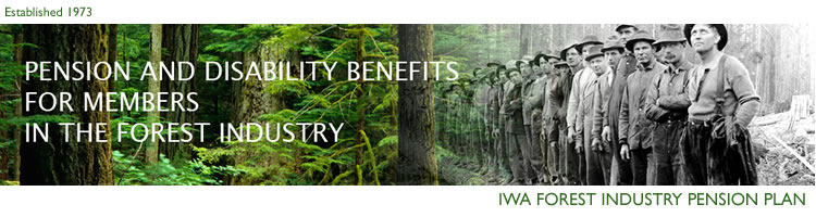 IWA Forest Industry Pension Plan